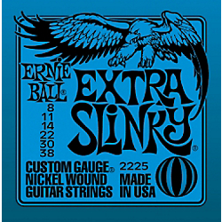 Ernie Ball Extra Slinky Nickel Wound Strings