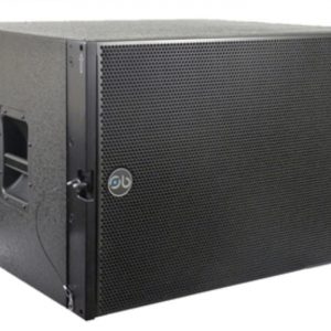 "Soundbarrier SBLA-181S 18"" Compact Vented Sub-bass System"