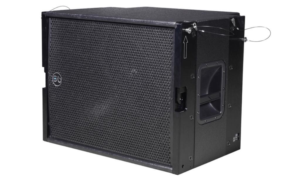 "Soundbarrier SBLA-18SUB 18"" Compact Vented Sub-bass System"