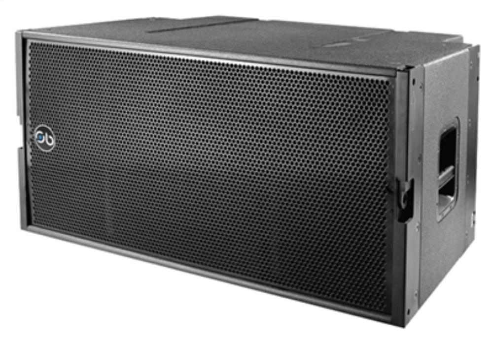 "Soundbarrier SBLA-28SUB Dual 18"", Horn Loaded Sub-bass System"