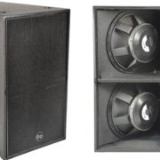 "Soundbarrier CS1B High SPL, Dual 18"" Sub Bass System"