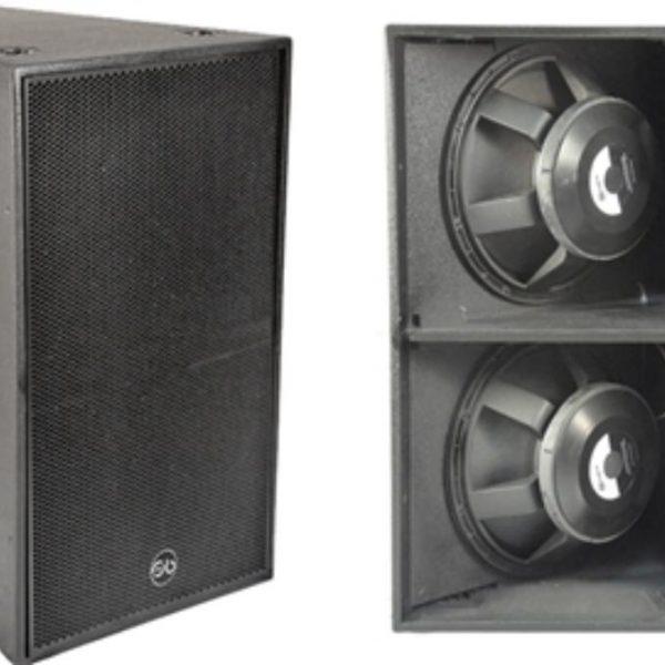 "Soundbarrier CS1B High SPL, Dual 18"" Sub Bass System"