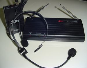 SKY USA WR102DR-VXM168TS Headset-Lavalier Wireless System