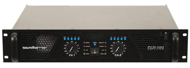Soundbarrier PCS-1100 Professional Amplifier