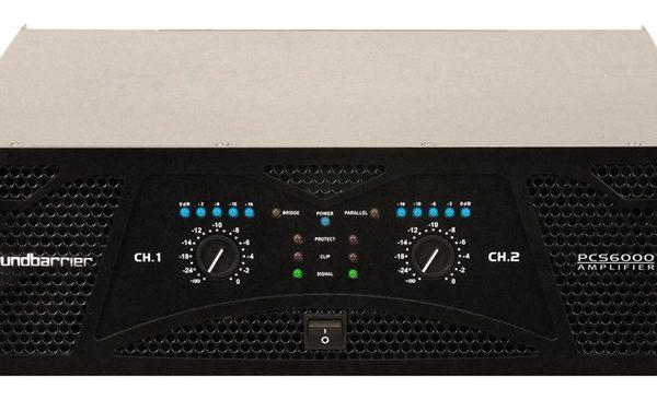 Soundbarrier Pcs 6000 Professional Amplifier Sound