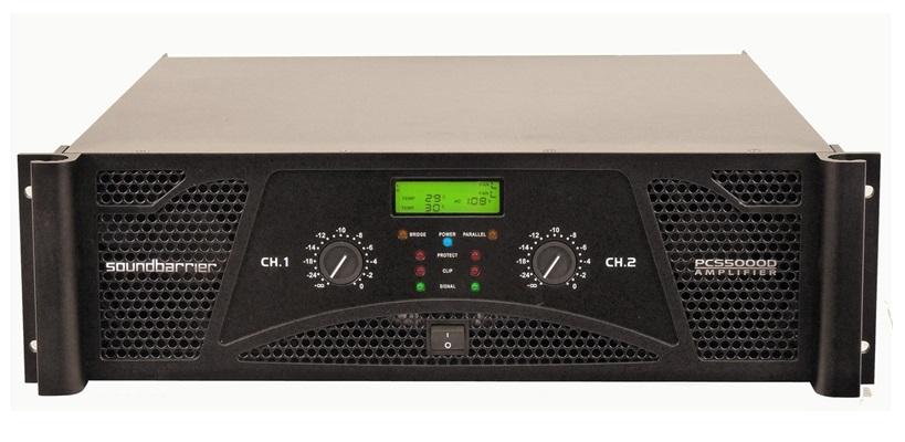 Soundbarrier PCS-5000D Professional Amplifier
