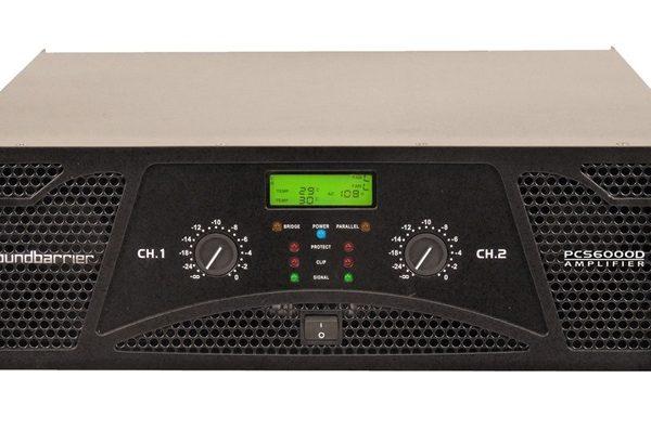 Soundbarrier PCS-6000D Professional Amplifier