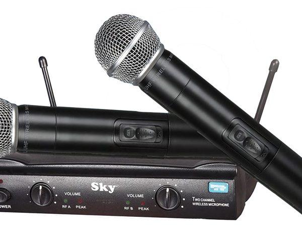 SDM 5502A UHF Wireless Mic System